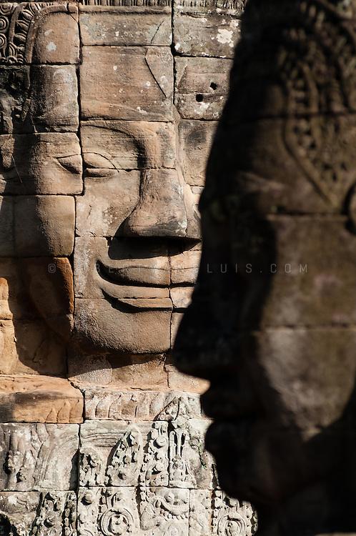 Bayon temple, Angkor temple complex, Siem Reap, Cambodia