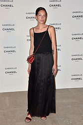 """Amanda Sanchez attending the party for the new Chanel perfume """"Gabrielle"""", at the Palais de Tokyo in Paris, France, on July 4, 2017. Photo by Alban Wyters/ABACAPRESS.COM"""