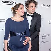 NLD/Amsterdam/20190316  - Premiere balletvoorstelling Het Zwanenmeer, Jesse Klaver en zijn zwangere partner Jolein