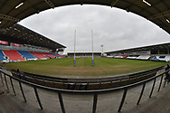 A general view of Totally Wicked Stadium , venue for todays game