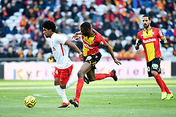 January 19, 2019 - Lens, France - 24 VAGNER DIAS GONCALVES (NAN) - 07 EL HADJI BA  (Credit Image: © Panoramic via ZUMA Press)