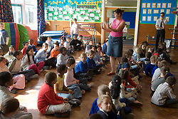 School assembly,