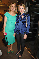 Left to right, the HON.MRS (Sophie) MONTGOMERY and her daughter LADY CONSTANCE MARQUIS at a n evening of private shopping in aid of Elizabeth Fitzroy Support at Tiffany & Co, 145 Sloane Street, London on 14th May 2008.<br /><br />NON EXCLUSIVE - WORLD RIGHTS