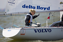 08_00985 © Sander van der Borch. Medemblik - The Netherlands,  May 21th 2008 . First day of the Delta Lloyd Regatta 2008.