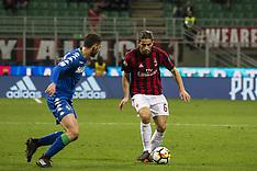Milan vs Sassuolo - 08 Apr 2018
