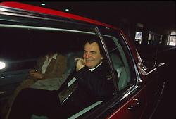 "John Francis ""Jack"" Smith Jr. at the New York Auto Show, 18 April 1992"