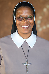 """1 March 2017, Thaba Bosiu, Lesotho: Sister Clara Rakhomo from Paray Mission Hospital in Thaba-Tseka, Lesotho. On 27 February - 3 March 2017, the Africa Christian Health Associations Platform (ACHAP) convened its 8th biennial meeting, at the Thaba Bosiu Cultural Village, some 20 kilometres from Maseru, Lesotho. The conference marked the tenth anniversary of ACHAP, and took place under the theme of """"Building Partnerships for FBO Health Systems Strengthening towards achieving the Sustainable Development Goals (SDGs)"""". Please note that this photo is not to be used in social media"""