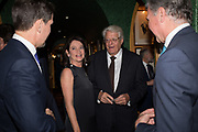 DR. CORINNE FLICK; GERT RUDOLPH FLICK;, Pedro Girao of Christies and Duncan Macintyre of Lombard Odier host the last dinner at the Old Annabels. 44 Berkeley Sq. London. 15 November 2018