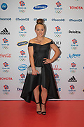 British artistic gymnast Amy Tinkler  during Team GB's annual ball at Old Billingsgate on the 21st November 2019 in London in the United Kingdom.