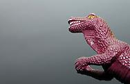 Plastic dinosaur