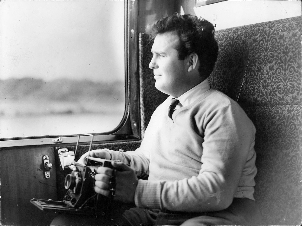 British photographer as a young man whilst working for Keystone Press London in the 1950's.