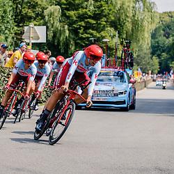 06-07-2019: Wielrennen: Tour de France: Brussel<br />Ploegentijdrit