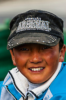 Tibetan Boy, Shannan Prefecture, Tibet (Xizang), China.
