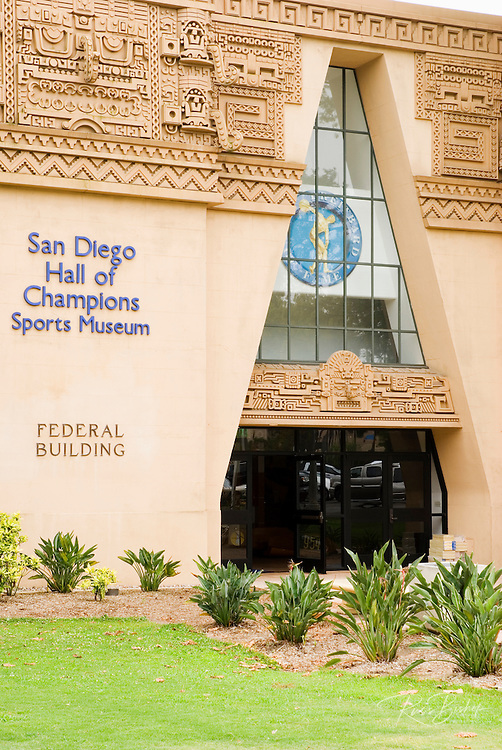 The Hall of Champions Sports Museum in Balboa Park, San Diego, California