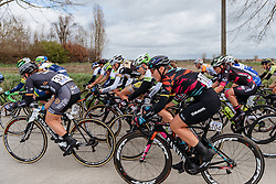 Lisa Brennauer, CANYON//SRAM Racing - Women's Gent Wevelgem 2016, a 115km UCI Women's WorldTour road race from Ieper to Wevelgem, on March 27th, 2016 in Flanders, Netherlands.