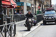 Tom Cruise zips through the streets of Paris on a motorbike as he shoots high-octane scenes for Mission: Impossible 6<br /> <br /> Over the past several months, he's been busy shooting action-packed scenes for the sixth instalment in his Mission: Impossible series at locations across Europe.<br /> <br /> And on Thursday, Tom Cruise pressed on on with production in his most recent base of Paris, mounting a BMW motorbike as he sped through the French capital's streets.<br /> <br /> Wearing an all-black ensemble that included a leather jacket and matching gloves, the 53-year-old Hollywood actor flashed his signature toothy grin as he rode along.<br /> <br /> Apparently in good spirits, he smiled and waved at curious onlookers before and after he mounted the two-wheeler in front of rolling cameras.<br /> <br /> The screen star's latest round of shooting came after he and co-star Vanessa Kirby were filmed in passionate scenes for the upcoming action flick on Tuesday.<br /> <br /> Sharing a kiss, Hollywood veteran Tom and The Crown star Vanessa, 26, snuggled up close, sharing jokes between takes as they collapsed in fits of giggles.<br /> <br /> The screen star's latest round of shooting came after he and co-star Vanessa Kirby were filmed in passionate scenes for the upcoming action flick on Tuesday.<br /> <br /> Sharing a kiss, Hollywood veteran Tom and The Crown star Vanessa, 26, snuggled up close, sharing jokes between takes as they collapsed in fits of giggles.<br /> <br /> The screen star's latest round of shooting came after he and co-star Vanessa Kirby were filmed in passionate scenes for the upcoming action flick on Tuesday.<br /> <br /> Sharing a kiss, Hollywood veteran Tom and The Crown star Vanessa, 26, snuggled up close, sharing jokes between takes as they collapsed in fits of giggles.<br /> The screen star's latest round of shooting came after he and co-star Vanessa Kirby were filmed in passionate scenes for the upcoming action flick on Tuesday.<br /> <br /> Sharing a kiss, Hollywood veteran Tom and The Crown star Vanessa, 26, snuggled up close, sharing jokes between takes as they collapsed in