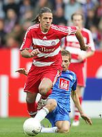Fotball<br /> Bundesliga Tyskland<br /> 20.10.2007<br /> Foto: Witters/Digitalsport<br /> NORWAY ONLY<br /> <br /> v.l. Martin Demichelis, Stanislav Sestak Bochum<br /> Bundesliga VfL Bochum - FC Bayern München 1:2
