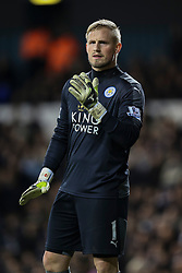 Kasper Schmeichel of Leicester City - Mandatory byline: Jason Brown/JMP - 07966386802 - 13/01/2016 - FOOTBALL - White Hart Lane - London, England - Tottenham v Leicester City - Barclays Premier League