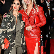 Shanie Ryan and Naomi Isted attend Fashion Scout LFW AW19 Day 1 at Freemasons' Hall, London, UK. 15 Feb 2019