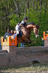 Poelmans Calle, BEL, Isolde van het Strateneinde<br /> Nationale LRV-Eventingkampioenschap Minderhout 2017<br /> © Hippo Foto - Kris Van Steen<br /> 30/04/17