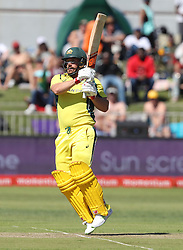 Aaron Finch of Australia during the 3rd ODI match between South Africa and Australia held at Kingsmead Stadium in Durban, Kwazulu Natal, South Africa on the 5th October  2016<br /> <br /> Photo by: Steve Haag/ RealTime Images