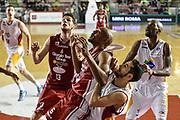DESCRIZIONE : Campionato 2014/15 Virtus Acea Roma - Giorgio Tesi Group Pistoia<br /> GIOCATORE : C.J. Williams Rok Stipcevic<br /> CATEGORIA : Rimbalzo Tagliafuori<br /> SQUADRA : Giorgio Tesi Group Pistoia<br /> EVENTO : LegaBasket Serie A Beko 2014/2015<br /> GARA : Dinamo Banco di Sardegna Sassari - Giorgio Tesi Group Pistoia<br /> DATA : 22/03/2015<br /> SPORT : Pallacanestro <br /> AUTORE : Agenzia Ciamillo-Castoria/GiulioCiamillo<br /> Predefinita :