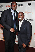 7 March 2011- New York, NY- l to r: Irving Johnson and Darryl Dye at the Power of Urban Presentation and Reception hosted by Magic Johnson and Yucaipa and held at the Empire Penthouse on March 7, 2011 in New York City. Photo Credit: Terrence Jennings/Photo Credit: Terrence Jennings for Uptown Magazine