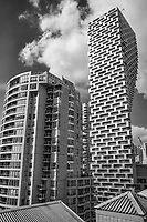 Vancouver House & Surrounding Condos (monochrome)