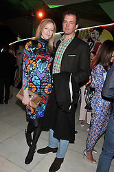 JADE PARFITT and JACK DYSON at the Vogue Festival Party 2013 in association with Vertu held at the Queen Elizabeth Hall, Southbank Centre, London SE1 on 27th April 2013.