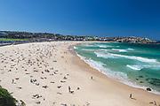 A beautiful autumn day at Bondi Beach, Sydney, Australia.