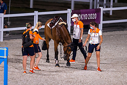 Beauville Z, 373 and Groom, Greve Willem, NED<br /> Olympic Games Tokyo 2021<br /> © Hippo Foto - Dirk Caremans<br /> 04/08/2021