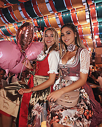 """Mandy Bork releases a photo on Instagram with the following caption: """"Had a blast with all my #cutiepies \u2764\ufe0f\ud83c\udfa1\ud83c\udf65\ud83c\udfa0 @hell.karrer #madlwiesn #girlsonly #girlgang #ootd"""". Photo Credit: Instagram *** No USA Distribution *** For Editorial Use Only *** Not to be Published in Books or Photo Books ***  Please note: Fees charged by the agency are for the agency's services only, and do not, nor are they intended to, convey to the user any ownership of Copyright or License in the material. The agency does not claim any ownership including but not limited to Copyright or License in the attached material. By publishing this material you expressly agree to indemnify and to hold the agency and its directors, shareholders and employees harmless from any loss, claims, damages, demands, expenses (including legal fees), or any causes of action or allegation against the agency arising out of or connected in any way with publication of the material."""