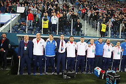 November 14, 2017 - Saint Petersburg, Russia - Of The Russian Federation. Saint-Petersburg. Arena Saint Petersburg, Zenit-arena. Friendly Match. The football world Cup. Team Russia Vs Team Spain. 3:3. Player. (Credit Image: © Russian Look via ZUMA Wire)