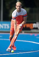 ARNHEM - Primeur. BILLY BAKKER. Het Nederlands Mannen hockeyteam traint in Arnhem in het Olympische Adidas tenue, dat tijdens de Olympische Spelen zal worden gedragen.   COPYRIGHT KOEN SUYK