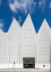 Exterior view of Szczecin Filharmonia concert hall in Szczecin , Poland.