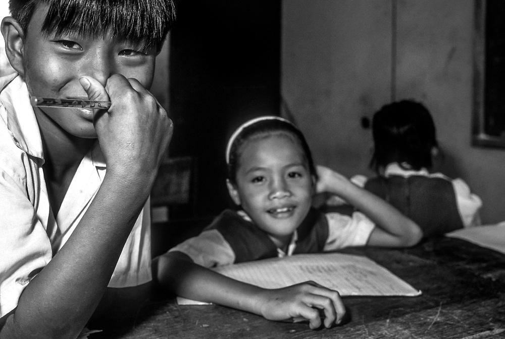 School classroom, Borneo, Malaysia, SE Asia