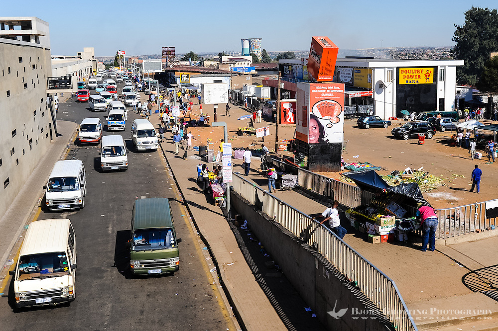 Soweto is a suburb of Johannesburg, South Africa, short for South Western Township. A symbol of the uprising against apartheid.