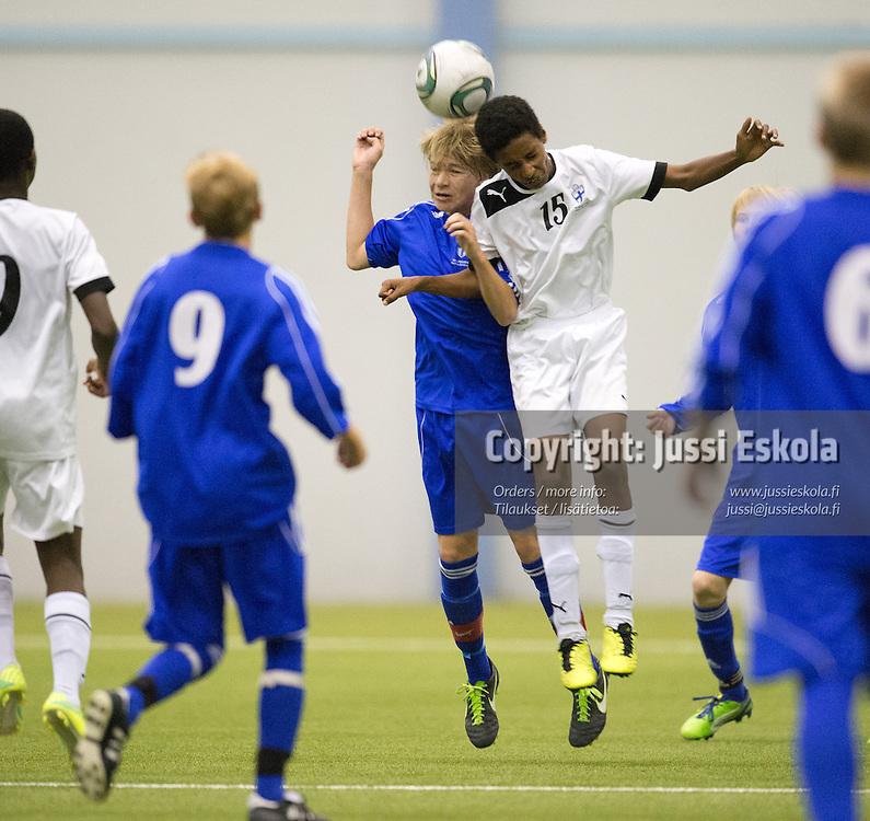 Hane Birhane. Vaasa - Keski-Pohjanmaa. Piirijoukkue-cup. Pojat. Eerikkilä 15.6.2013. Photo: Jussi Eskola