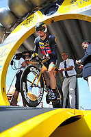 Sykkel<br /> Foto: imago/Digitalsport<br /> NORWAY ONLY<br /> <br /> BOASSON HAGEN Edvald of MTN - Qhubeka in action during the stage 1 of the 102nd edition of the Tour de France 2015 a individual time trial with start in Utrecht and finish in Utrecht, Netherlands (13,8 kms) *** UTRECHT, NETHERLANDS - 4/07/2015