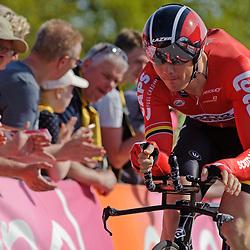 06-05-2016: Wielrennen: Giro: Apeldoorn: Individuele tijdrit: Proloog<br /> Pim Ligthart (team Lotto Soudal)