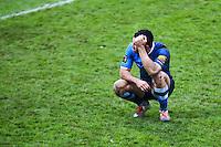 Geoffrey Palis - 03.01.2015 - Castres / La Rochelle - 15eme journee de Top 14 - <br />Photo : Laurent Frezouls / Icon Sport