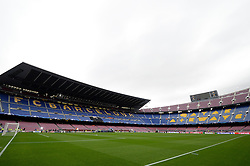 A general view of the FC Barcelona Stadium, Camp Nou - Mandatory by-line: Dougie Allward/JMP - 19/10/2016 - FOOTBALL - Camp Nou - Barcelona, Catalonia - FC Barcelona v Manchester City - UEFA Champions League