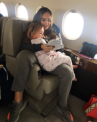 """Tamara Ecclestone releases a photo on Instagram with the following caption: """"Bye Boslo"""". Photo Credit: Instagram *** No USA Distribution *** For Editorial Use Only *** Not to be Published in Books or Photo Books ***  Please note: Fees charged by the agency are for the agency's services only, and do not, nor are they intended to, convey to the user any ownership of Copyright or License in the material. The agency does not claim any ownership including but not limited to Copyright or License in the attached material. By publishing this material you expressly agree to indemnify and to hold the agency and its directors, shareholders and employees harmless from any loss, claims, damages, demands, expenses (including legal fees), or any causes of action or allegation against the agency arising out of or connected in any way with publication of the material."""