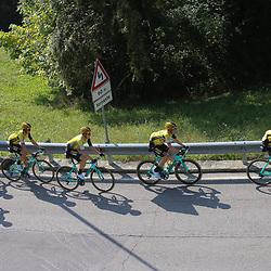 12-10-2019: Cycling: Il Lombardia: Como<br />Jumbo-Visma controlling the race