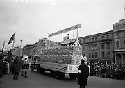 17/3/1966<br /> 3/17/1966<br /> 17 March 1966<br /> <br />  Bord Iascaigh Mhara Sea Fisheries Display for the St. Patick's Day Parade