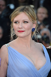 """70th Cannes Film Festival, """"The Beguiled"""" Red Carpet Arrivals. 24 May 2017 Pictured: Kirsten Dunst. Photo credit: KILPIN / MEGA TheMegaAgency.com +1 888 505 6342"""