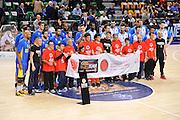 DESCRIZIONE : Eurolega Euroleague 2015/16 Group D Dinamo Banco di Sardegna Sassari - Maccabi Fox Tel Aviv<br /> GIOCATORE : One Team Special Olympics<br /> CATEGORIA : Before Pregame Fair Play<br /> EVENTO : Eurolega Euroleague 2015/2016<br /> GARA : Dinamo Banco di Sardegna Sassari - Maccabi Fox Tel Aviv<br /> DATA : 03/12/2015<br /> SPORT : Pallacanestro <br /> AUTORE : Agenzia Ciamillo-Castoria/C.Atzori