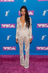 August 21, 2018 - New York City, New York, USA - 8/20/18.Shanina Shaik at the 2018 MTV Video Music Awards at Radio City Music Hall in New York City. (Credit Image: © Starmax/Newscom via ZUMA Press)