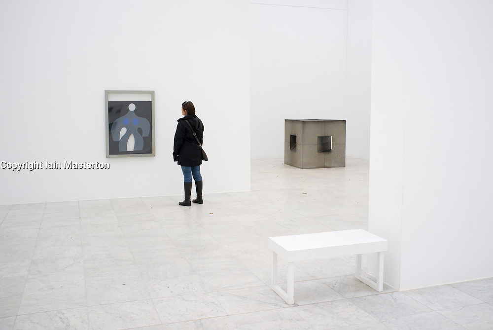 Kulturraum or Culture room at Museum Hombroich at Neuss in Germany