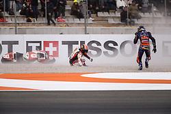 November 17, 2019, Valence, Espagne: JOHANN ZARCO - FRENCH - LCR HONDA IDEMITSU - HONDA.IKER LECUONA - SPANISH - RED BULL KTM TECH 3 - KTM (Credit Image: © Panoramic via ZUMA Press)